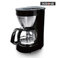 키친아트 블랙메탈 커피메이커 5-6잔용 KAC-560
