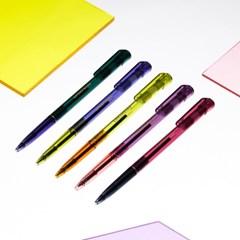 라이프앤피시스 투명볼펜 0.5mm (5종)