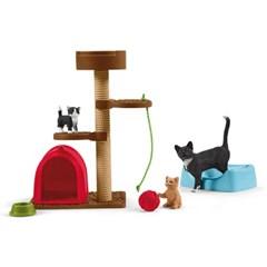 [슐라이히] 고양이 놀이 시간_(301789777)