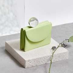 FENNEC HALFMOON MINI WALLET - LIME