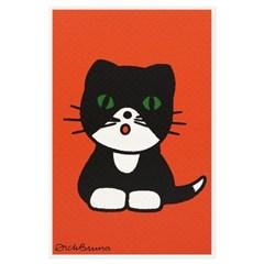 실크스크린 포스트카드 - 고양이