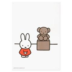 미피와 친구들 리소 A3 포스터 - 미피 박물관