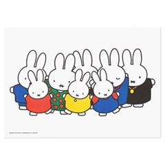 미피와 친구들 리소 A3 포스터 - 미피 대가족