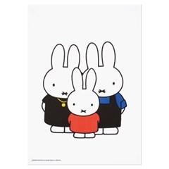미피와 친구들 리소 A3 포스터 - 미피 패밀리
