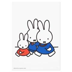 미피와 친구들 리소 A3 포스터 - 패밀리 워킹