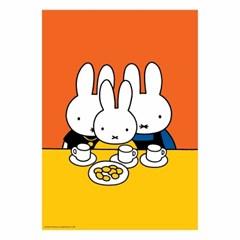 미피와 친구들 A2 출력 포스터 - 간식시간
