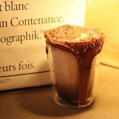 카페유리잔 감성 이중유리컵 홈카페용품