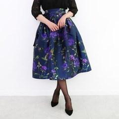 밤의 장미 생활한복 허리치마 (2color)