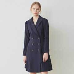 FLARE DOUBLE JACKET OPS_NAVY