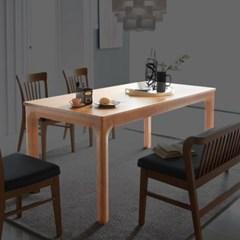 [스코나]헤니커 원목 1700 식탁 테이블_(602777429)