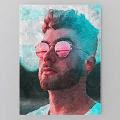 당신의사진을 미술그림작품 유화느낌으로 캔버스액자
