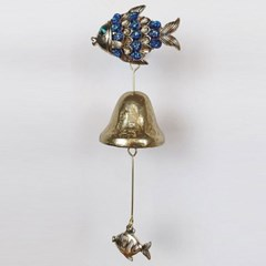 BLUE 물방울 물고기 현관 문종 CH1563198