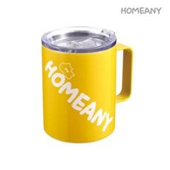(HOMEANY) 홈애니 스텐머그 420ml_옐로우