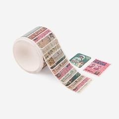 클래식 우표 마스킹 테이프