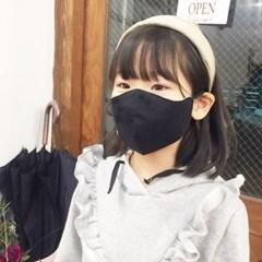 [쏘잉앤맘] 오가닉마스크 필터교체형 블랙마스크
