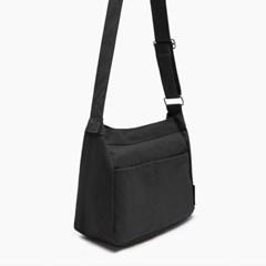 프릴리 블랙 데일리 여성 에코 크로스백 가방