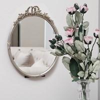 꼬떼따블 엔틱 실버골드 타원형 거울