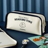 [Peanuts] TIME 사각 펜 케이스_찰리브라운