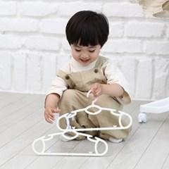 새싹옷걸이 일반형 1+9세트 아기옷걸이