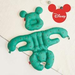 에시앙 디즈니 아기의자 전용 허그미키 2종세트 (그린)_(934801)