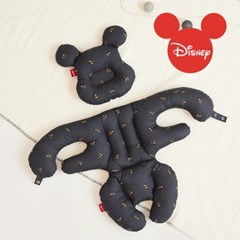 에시앙 디즈니 아기의자 전용 허그미키 2종세트 (차콜)_(934800)