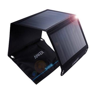 [공식스토어] 앤커 파워포트 태양광 충전기 21W 블랙 (A2421011)