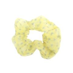 [블루밍데이] 패턴 헤어슈슈 곱창머리끈_옐로우(AGHT0302HBYL)