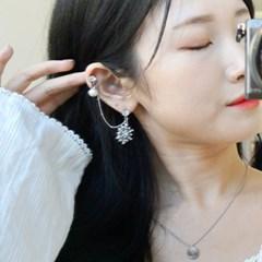 퀸즈 투핀 귀걸이.귀찌