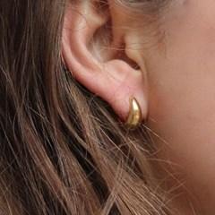061 Bold Hoop Silver Earring