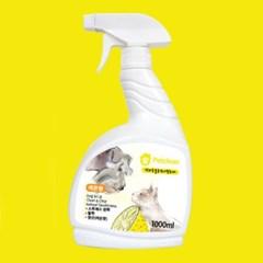 Pet Clean 탈취제 1000ml - 레몬향 (pt)