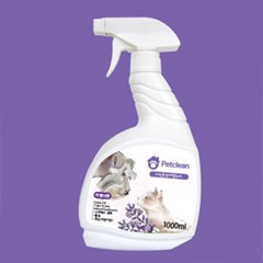 Pet Clean 탈취제 1000ml - 라벤더향 (pt)