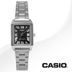 CASIO 카시오 LTP-V007D-1B 여성시계 메탈밴드 손목시계