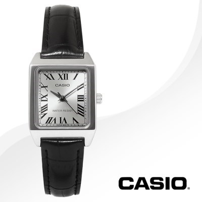 CASIO 카시오 LTP-V007L-7B1 여성시계 가죽밴드 손목시계
