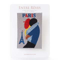 PARISIEN COUPLE PATCH