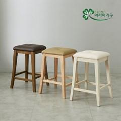 폰트원목사각바의자