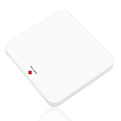 휴대용 사각 마스크 위생 보관 케이스 (항균패치)