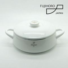 후지호로 엘레강스 일본 법랑 24cm전골냄비