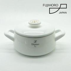 후지호로 엘레강스 일본 법랑 20cm양수냄비