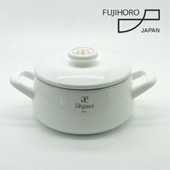 후지호로 엘레강스 일본 법랑 18cm양수냄비