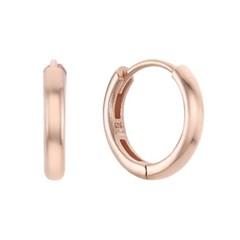 [레모닝] 베이직 원터치 링 귀걸이 13mm