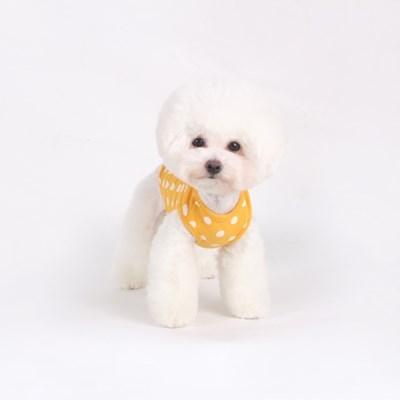 [T.삐삐 도트민소매]Pippi dot sleeveless_Yellow