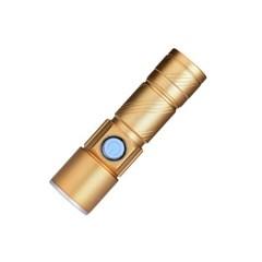USB 미니 줌라이트 충전식손전등_(1911968)