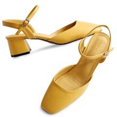kami et muse 4.5 cm middle heel strap pumps_KM20s005