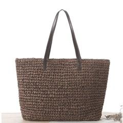 에콰 여성 라탄백 왕골가방 여름가방 숄더백_(2352441)