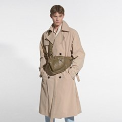 OVERFIT SIGNATURE TRENCH COAT_BEIGE