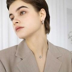 little stone flower necklace