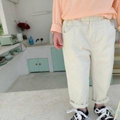 돌핀웨일 모카베이지밴딩팬츠(75~135cm)