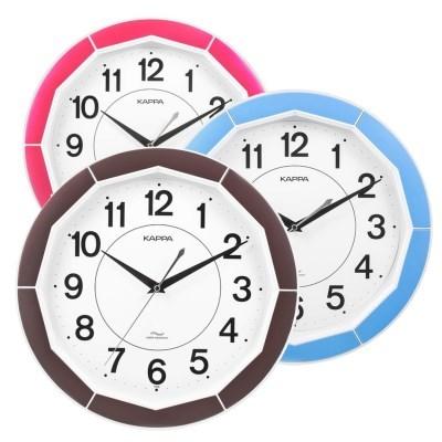 카파 IP228 무소음 12각컬러 인테리어벽시계 3종 택 1