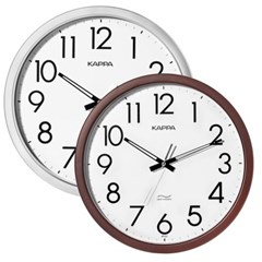 카파 IP157 무소음 심플라인 인테리어벽시계 2종 택 1