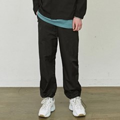 WIDE STRING JOGGER PANTS_BLACK